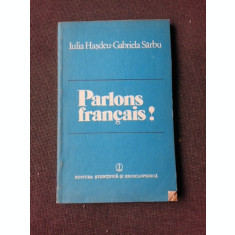 PARLONS FRANCAIS? - IULIA HASDEU, GABRIELA SARBU