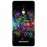 Husa silicon pentru Xiaomi Remdi Note 3, Rainbow Colored Soap Bubbles