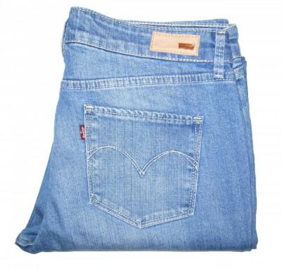 Blugi Dama Levis Jeans LEVI'S DEMI CURVE STRAIGHT - MARIME: 30 - (Talie 84 CM) foto