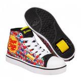 Heelys X Chupa Chups Veloz Black/White/Yellow/Multi Nylon, 31 - 35, 38, 39