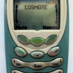 Nokia 3410 + carcasa / tastatura noua (cu baterie, fara incarcator)