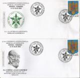 România, A 14-a Conf. Intern. Medicală în Esperanto, plicuri, Oradea, 2003