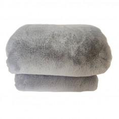 Patura de blana, gri deschis, 150x180, RABITA NEW TYP 9