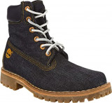 Bocanci dama TIMBERLAND Limited LR White Oak originali tesut jeans 38,5