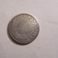 CY - Shilling 1868 Marea Britanie / Regina Victoria / numarul matritei 18
