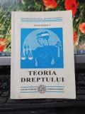 Adam Popescu Teoria dreptului Universitatea Spiru Haret București 1998 053
