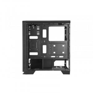 Carcasa Gaming Segotep Halo 7 Plus, Iluminare LED, USB 3.0, Panou Transparent,...