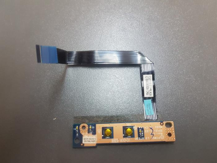 Modul pornire , Buton laptop Lenovo G570