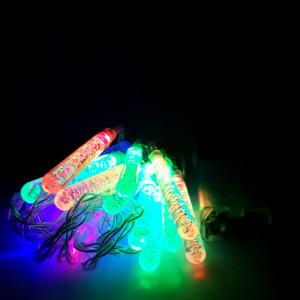 Instalatie de Craciun cu Baterii Fir Transparent Tip Sir 2.5 m 20 LED -uri Turturi Multicolor
