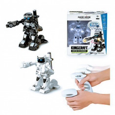 Robot Luptator box, KingCraft,cu 2 x contoller,Senzor de puncte,3 ani +