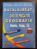 BACALAUREAT GHID DE PREGATIRE GEOGRAFIE SINTEZE TESTE REZOLVARI 2016 - Lungu