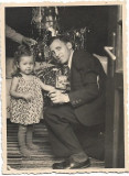 Copil jucarie brad Craciun 1941