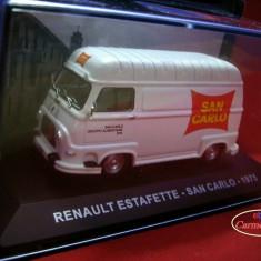 Macheta Renault Estafette San Carlo - 1975 scara 1:43 IXO