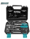 Cumpara ieftin Trusa de chei tubulare 1/2 cu antrenor 45 piese (INDUSTRIAL) Total (THT-141451)