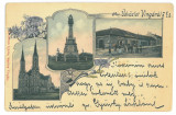 4994 - VINGA, Arad, Litho, Romania - old postcard - used - 1905, Circulata, Printata
