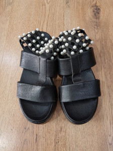 LICHIDARE STOC! Superbe sandale dama noi piele naturala talpa ortopedica 37