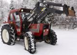 Tractor Fiat 780 DT cu încărcător frontal Quicke 4300