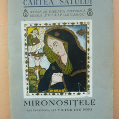 V. I. POPA ( sub ingrijirea) - MIRONOSITELE ( Cartea satului nr. 28 ) - 1938