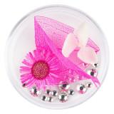 Flori Uscate Unghii LUXORISE cu cristale - Floral Fairytale #22
