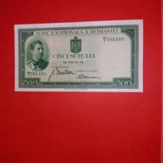 BANCNOTE ROMANESTI 500LEI 1934XF
