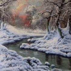 Tablou  Laszlo Neogrady, Peisaje, Ulei, Impresionism
