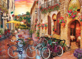 Puzzle Anatolian - David Mc Lean: Biking in Tuscany 1000 piese