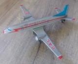 Avion de jucarie din tabla, China// prezinta lipsuri