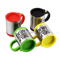 Cana cu Mixer Incorporat Self Stirring Mug YD001 Colorata