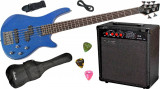 Cumpara ieftin Set chitara electrica bass Santander BG1209-5 P J Hy-X-AMP BA-30
