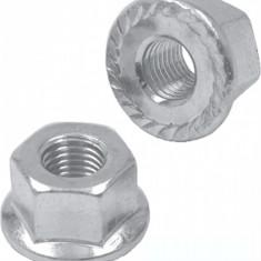 Piulita Zinc cu Flansa 3/8 Butuc SpatePB Cod:421830020RM
