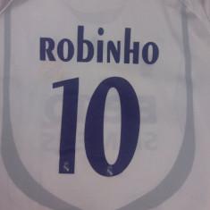 Tricou Real Madrid, Robinho, numărul 10, Benq, Adidas