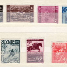 Romania  1937    U.F.S.R.