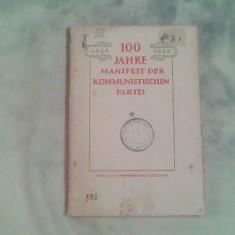 100 Jahre,,manifest der kommunistischen parte I-Sechs aufsatze-Mitin,Kruschkov..