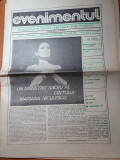 ziarul evenimentul anul 1,nr. 2 din 26 februarie-1 martie 1990-mariana niculescu