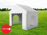 3X2 M CORT EVENIMENTE PROFESIONAL ECONOMY, PVC ALB 500 g/m²