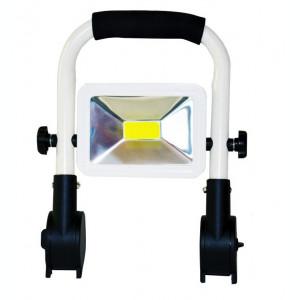 Proiector LED 10W 12V 220V cu Acumulator si Suport Reglabil BL401