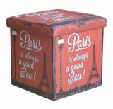 Taburet pliabil, Heinner, Paris, HR-FLD38-PARIS