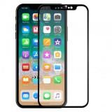 Folie protectie sticla securizata 5D ecran Apple iPhone XR BLACK