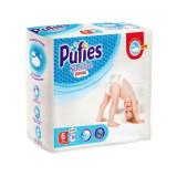 Scutece-Chilotel Pufies Sensitive Pants Extra Large, Nr.6, 15+ Kg, 38 buc