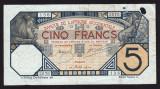 Africa Occidentala 5 Francs s136 2076 1924 P#5Bb