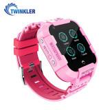 Cumpara ieftin Ceas Smartwatch Pentru Copii Twinkler TKY-DF27 cu Functie Telefon, Apel video, Localizare GPS, Istoric traseu, Camera, SOS, Android, 4G, IP54, Joc Mat