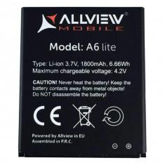 Baterie Acumulator Allview A6 Lite Origina 3.7v Li-Ion 1800 mAh 6.66Wh