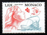 MONACO 2002, Crucea Rosie, serie neuzata, MNH, Nestampilat
