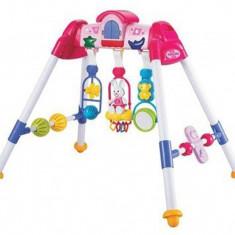 Centru de activitati cu sunete si lumini Gym Play pink