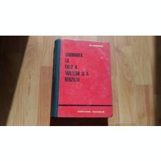 LAMINAREA LA CALD A TABLELOR SI A BENZILOR-M.ADRIAN