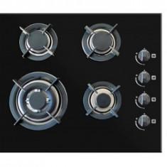 Pachet Cuptor electric + Plita + Hota Pyramis Elegant Deco Black Glass