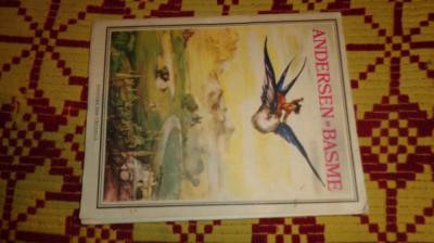andersen - basme / ilustratii marcela cordescu /114pag/an1986 foto
