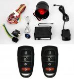 Alarma auto K606 cu 2 telecomenzi