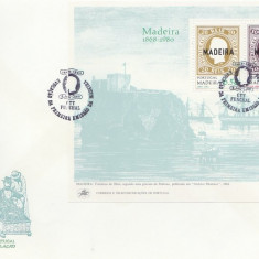 Portugal Madeira 1980 - 112th marcii postale, FDC