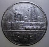 7.487 ROMANIA RSR 3 LEI 1966